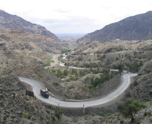 Khyber Pass In Pakistan