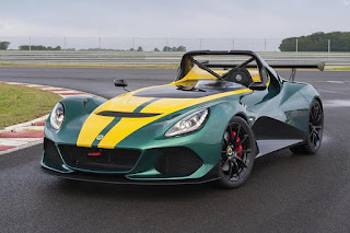 Lotus 3-Eleven (2016) Front Side