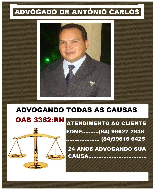 ADVOGADO DR ANTÔNIO CARLOS RN