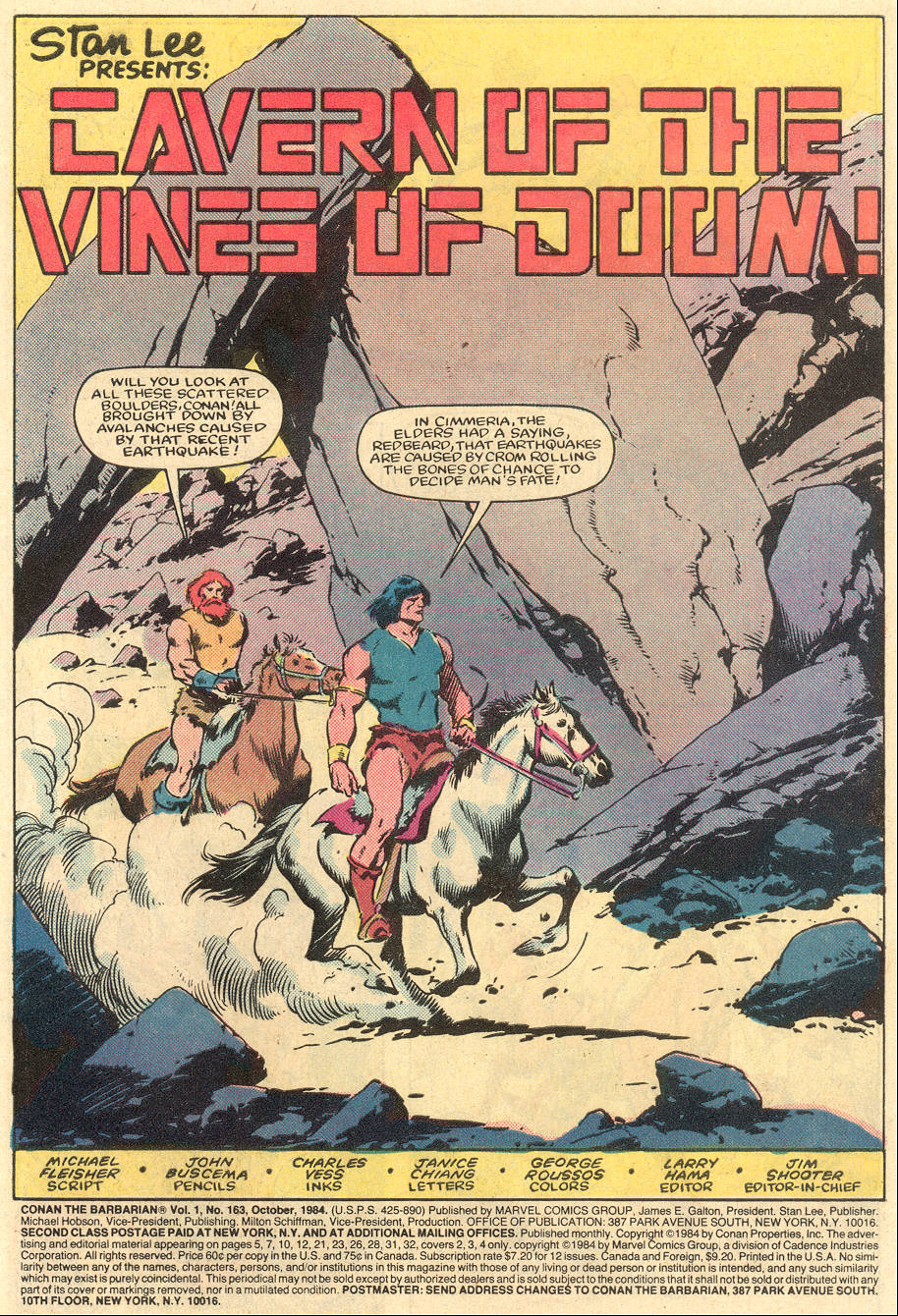 Conan the Barbarian (1970) Issue #163 #175 - English 2