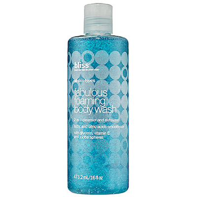 Bliss, Bliss body wash, Bliss shower gel, Bliss Fabulous Foaming Body Wash, body wash, shower gel