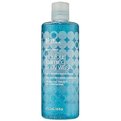 Bliss, Bliss body wash, Bliss shower gel, Bliss Fabulous Foaming Body Wash, body wash, shower gel