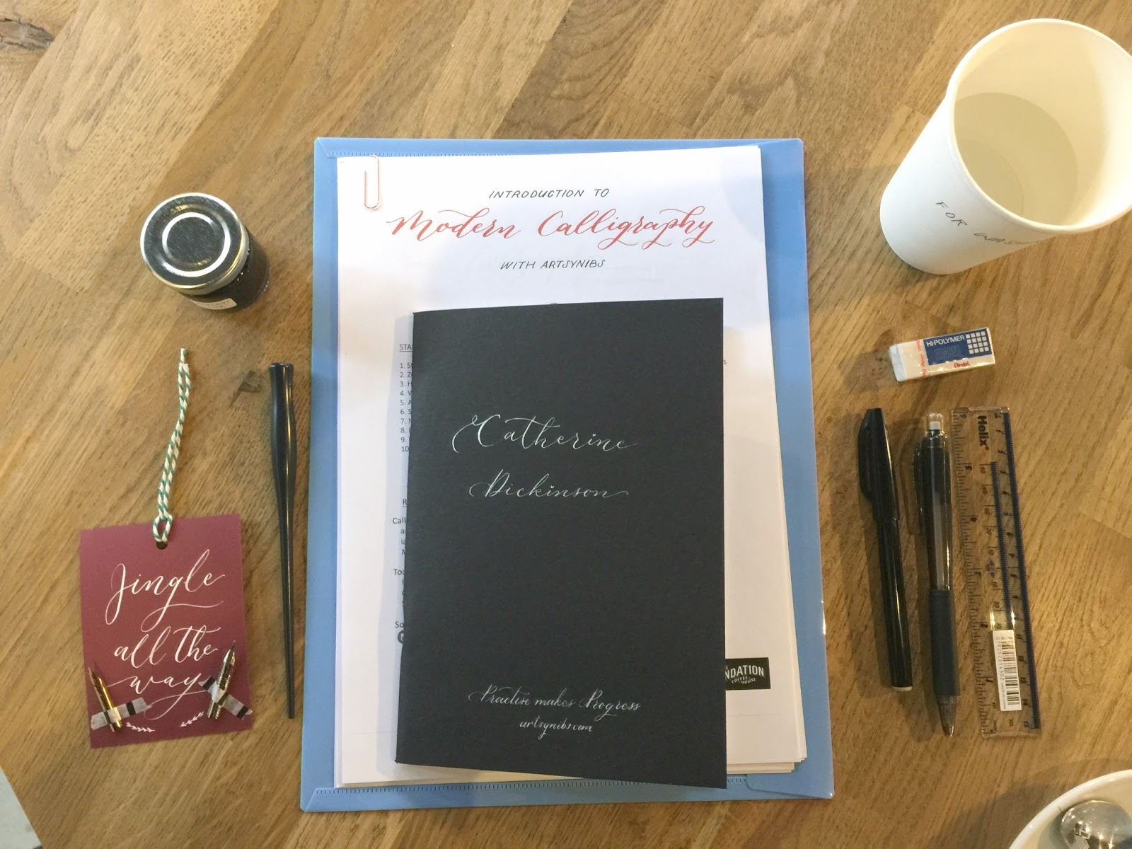 Modern Calligraphy with Artsynibs