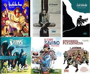 Ediciones de LA DUENDES en papel, títulos 19 a 24
