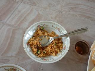 Petit déjeuner au sri lanka
