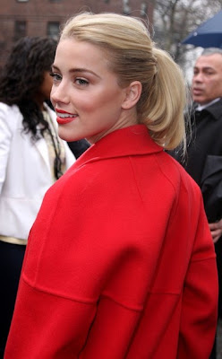 Amber Heard Haircut 2012