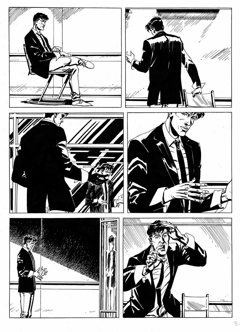 tavola originale dylan dog