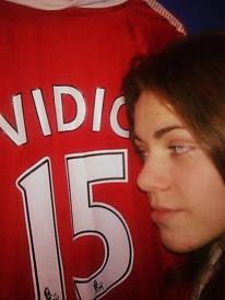 Mirjana loves Vidic