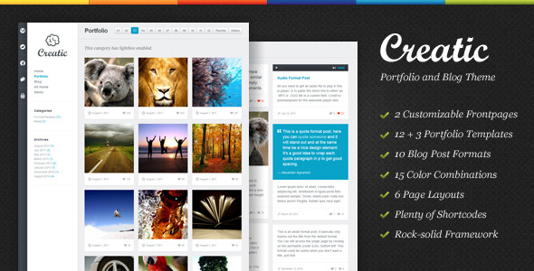 Creatic-Portfolio-WordPress-Theme