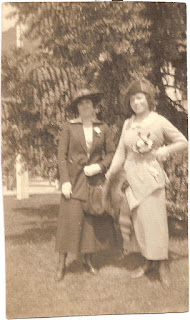 Leona Grant and friend or cousin