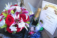 Sweet Honeymoon Basket & bouquet!