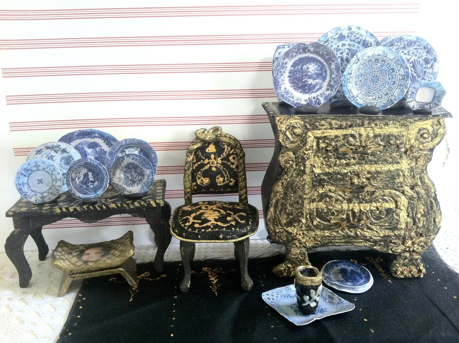 kolekcja chińskich talerzy