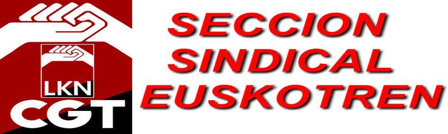 Seccion Sindical en Euskotren