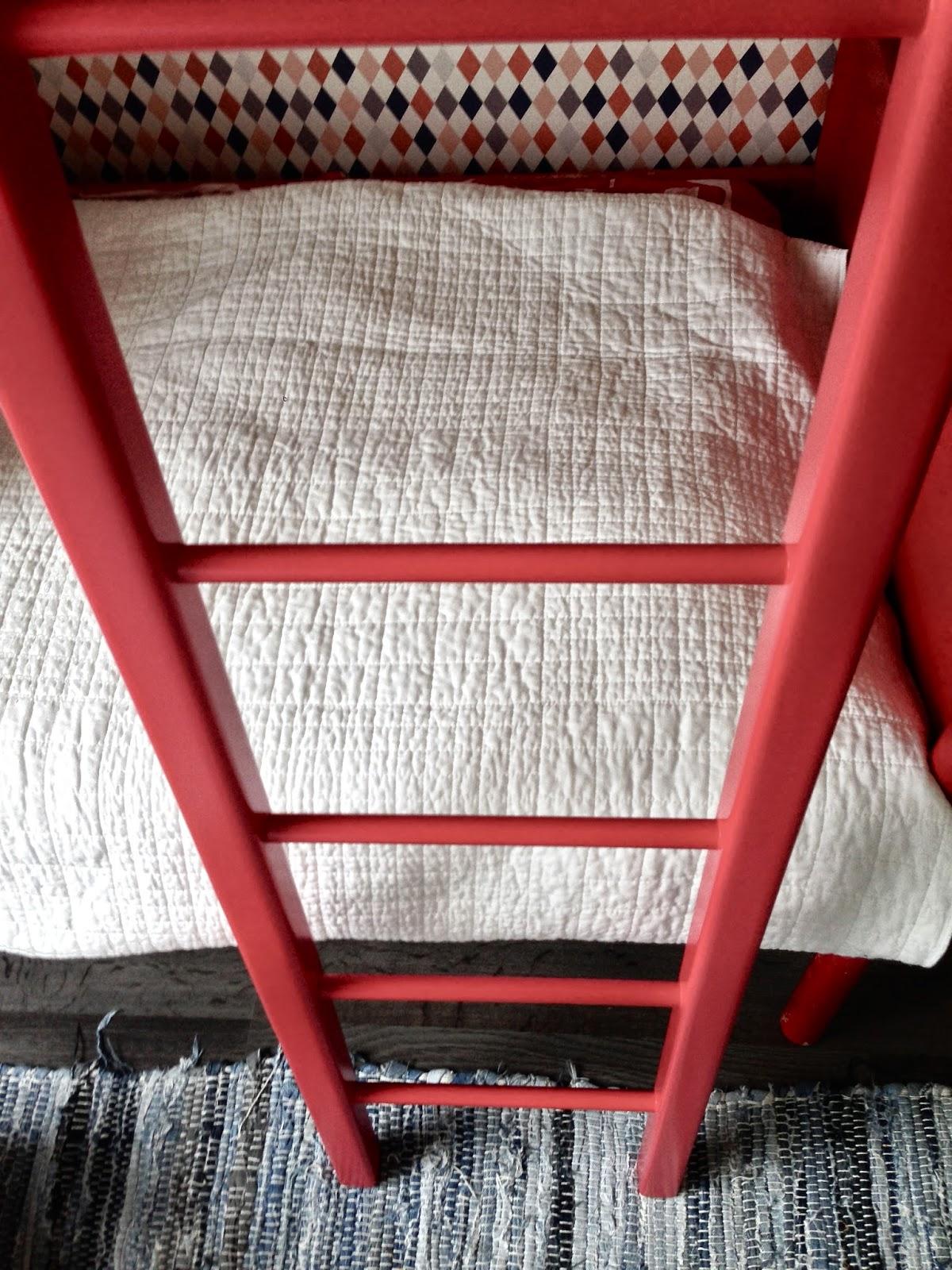 ladder, stege, tikkaat, Niemen Tehtaat, kerrossänky, bunkbed, våningssäng