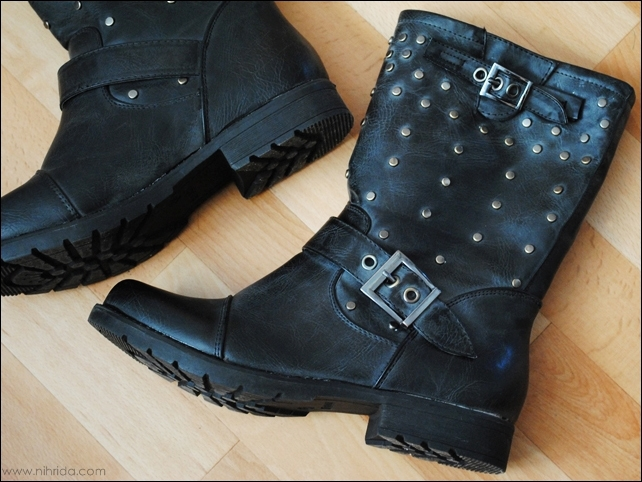 New Yorker Studded Boots