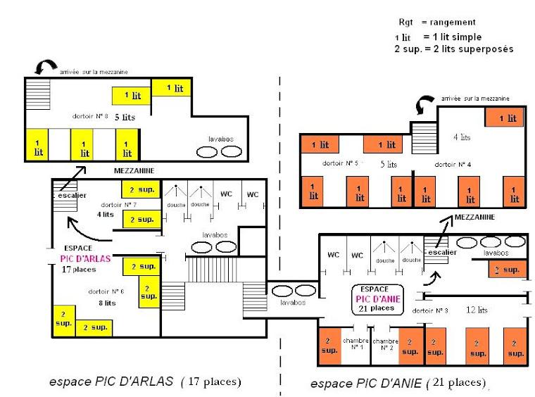 Plan du Centre