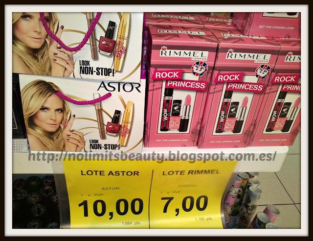 Kits de Maquillaje Astor y Rimmel London