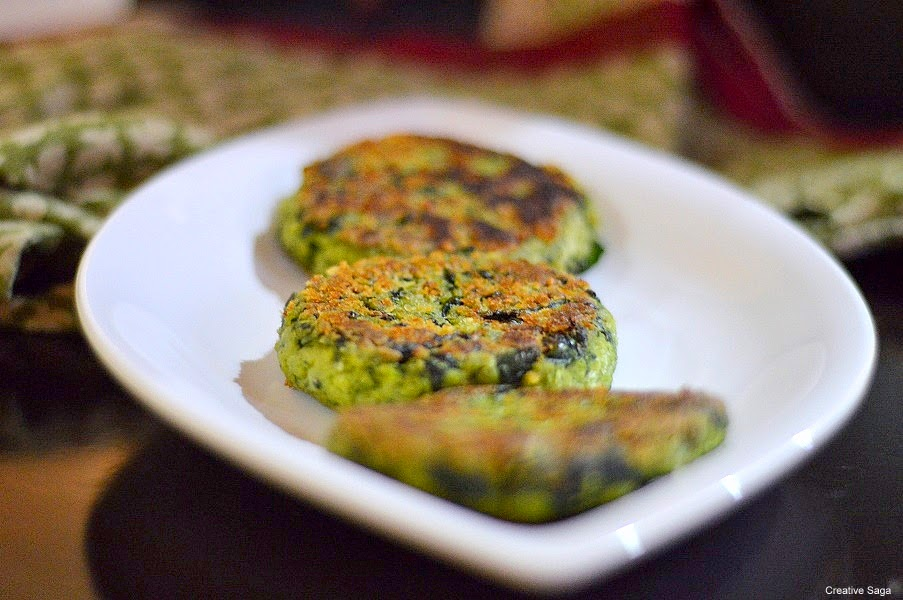 spinach tofu cutlet recipe