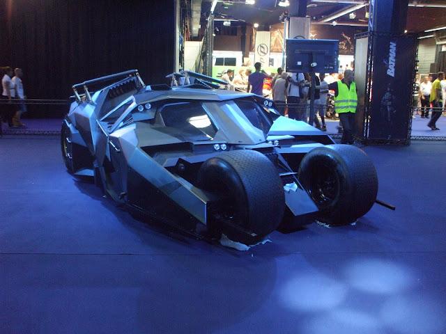 Batmobile live in Tel Aviv תערוכת אוטומוטור באטמוביל 2013