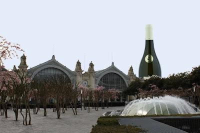 Tour Vouvray : projet de tour jean Germain sur l'ilot Vinci