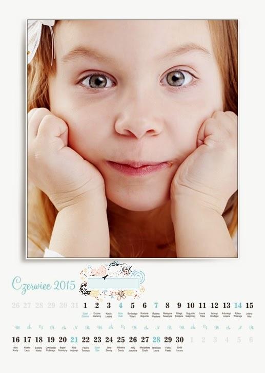 """Projekt fotokalendarza """"Wszystko pięknie"""""""