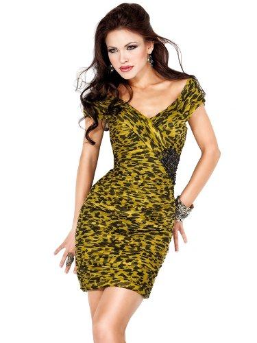 Jovani 171255, Leopard Print Dress Jovani Dresses Jovani Prom