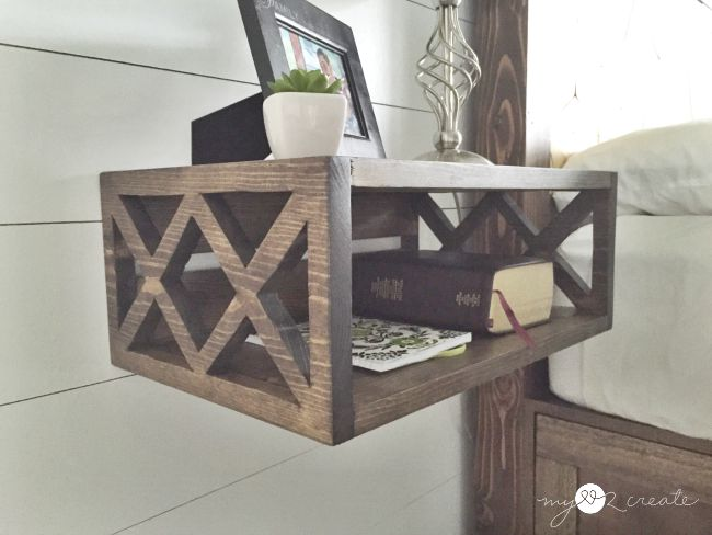 Floating Farmhouse Night Stand