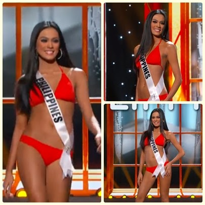 Ariella Arida Sexy in Swimsuit for Miss Universe 2013 preliminary competition