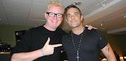Chris Evans and Robbie @BBC Radio2