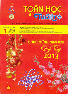 tap chi toan hoc tuoi tre so 427 thang 1 nam 2013