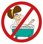 Hot baths can be dangerous when having Lymphedema
