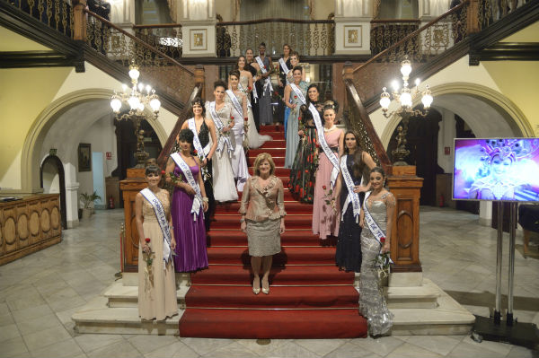 foto candidatas a reina del carnaval las palmas 2016
