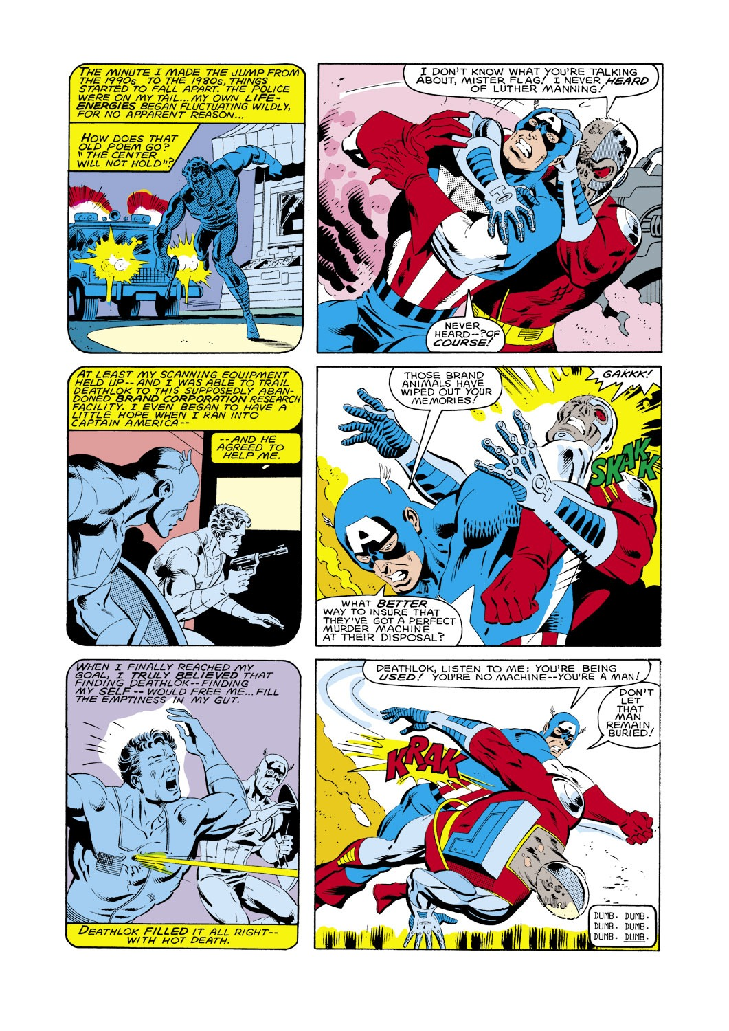 Captain America (1968) Issue #287 #203 - English 6