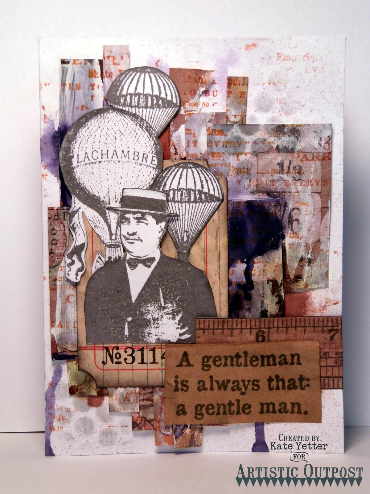 Stamps - Artistic Outpost Hat's Off, Paris Exposition, Skating Emporium