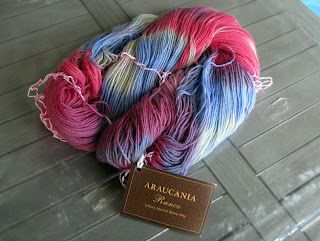 multicolor sock yarn