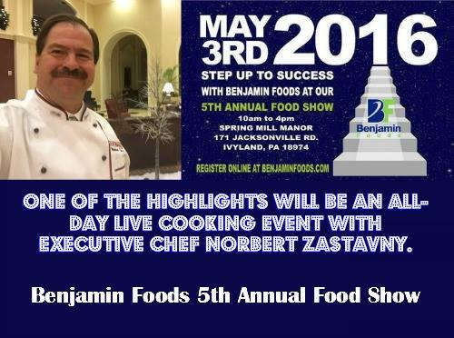 Benjamine Foods 5th Annual Food Show