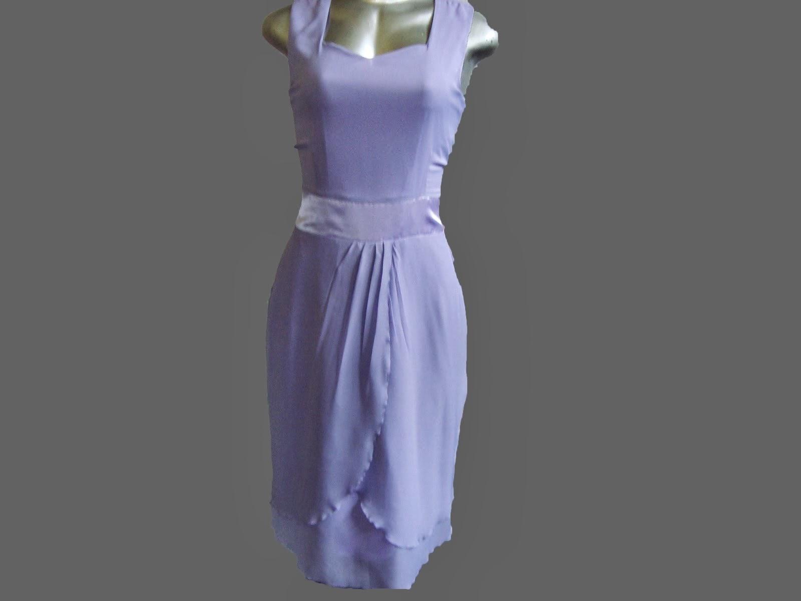 vestido de musseline