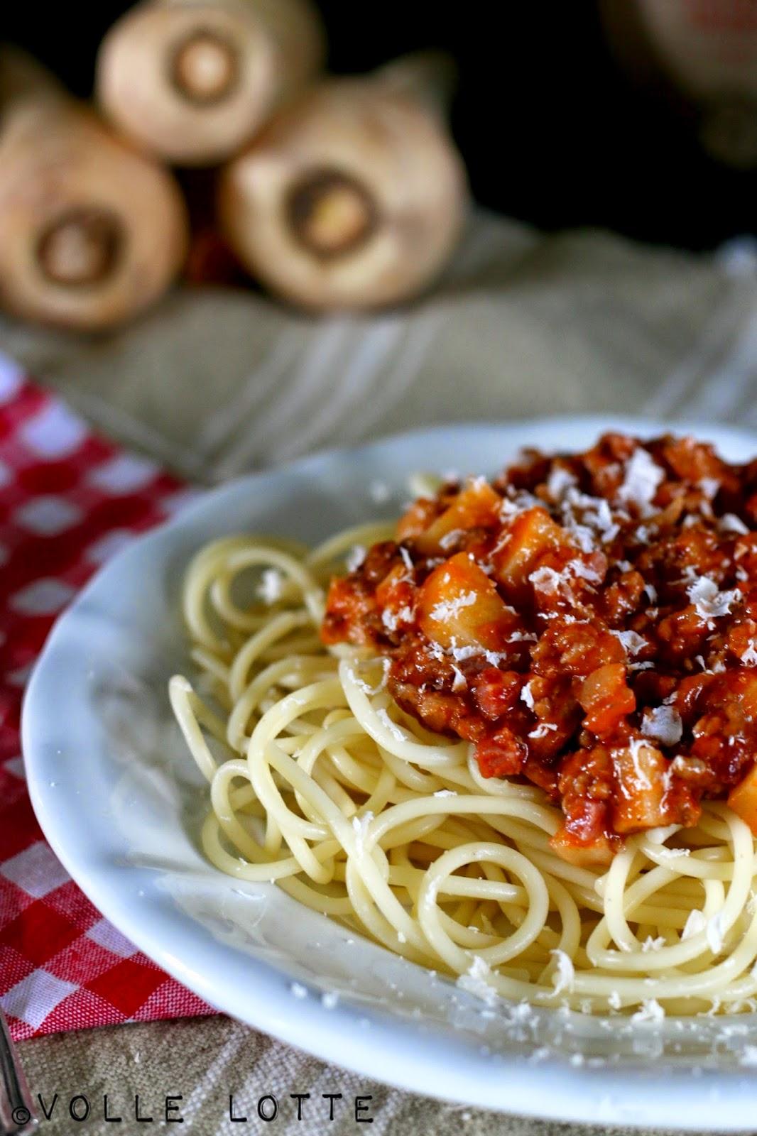 Bolo, Spaghetti Bolognese, Winter, Pastinake, Amarone, Valpolicella, Italien