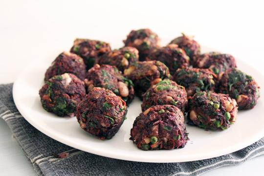 vegetarian balls recipe