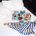 Breakfast in bed without the crummies.