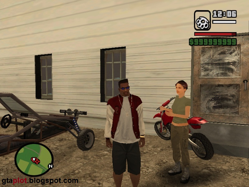 Pacar CJ Helena Wankstein GTA San Andreas Girlfriends