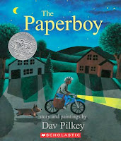 bookcover of Caldecott Honor winner PAPERBOY by Dav Pilkey