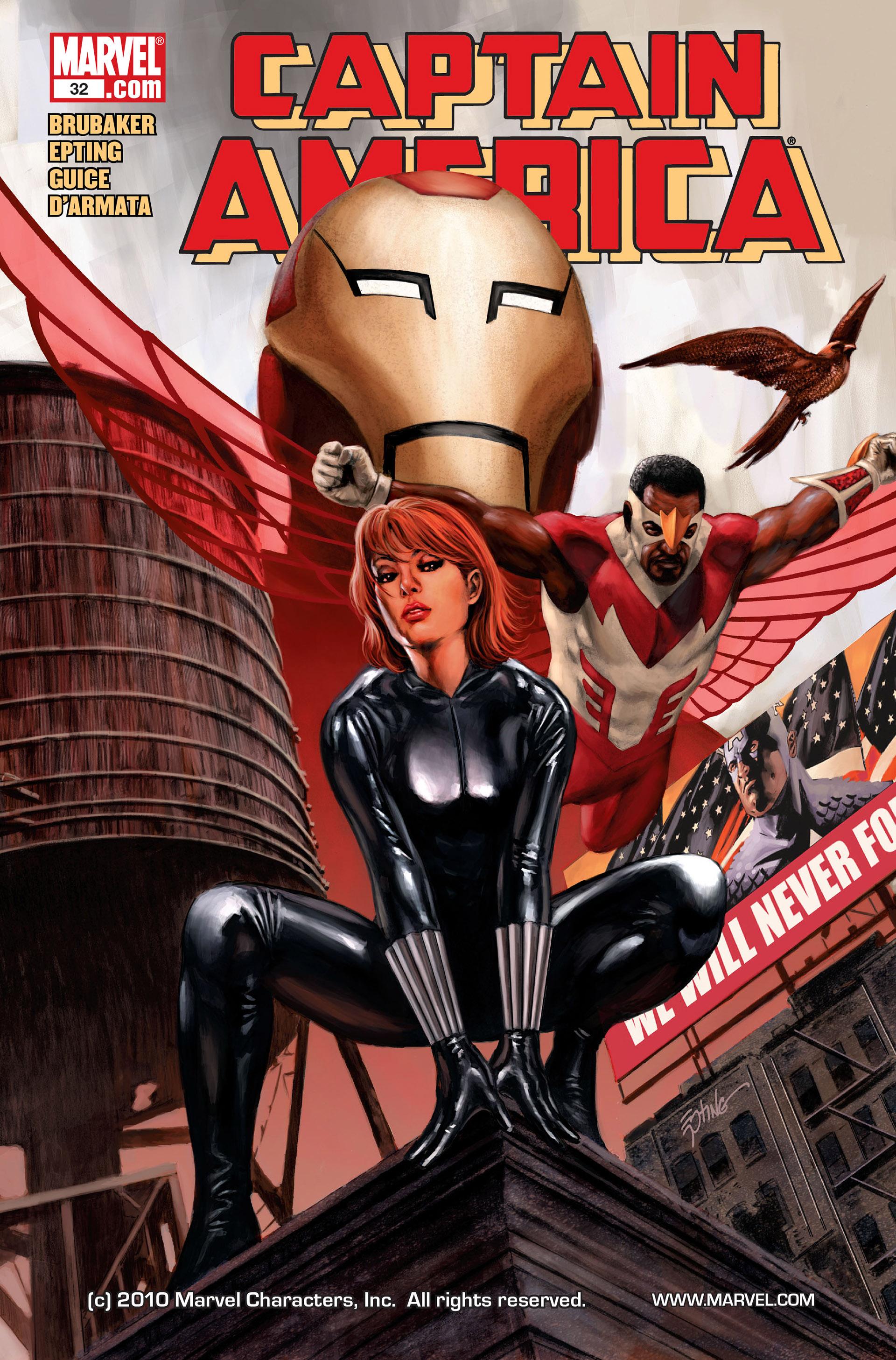 Captain America (2005) Issue #32 #32 - English 1