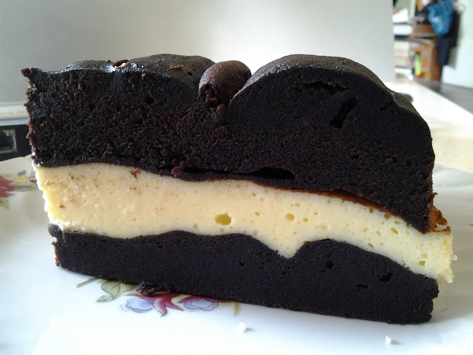 healthy living .......: kek kukus coklat cheese ............