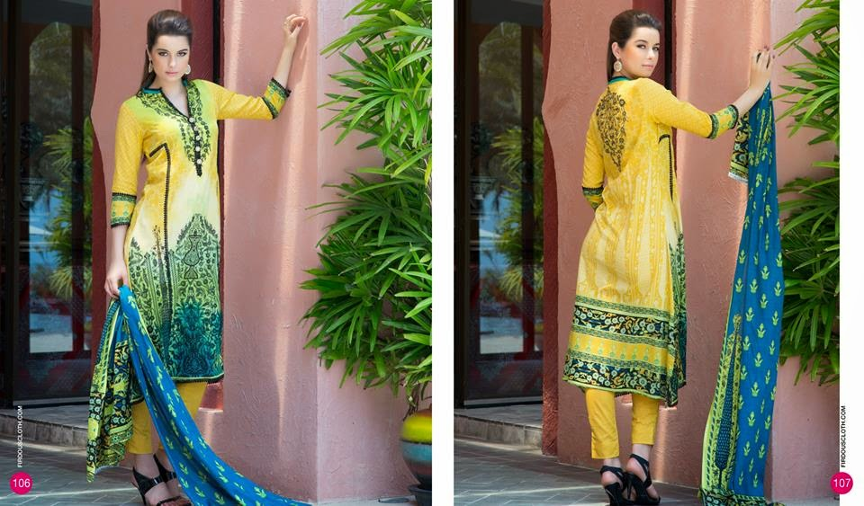 Firdous Summer 2015 Lawn Collection