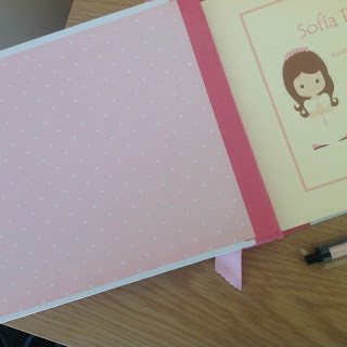 Libro de Primera Comunión cartonnage