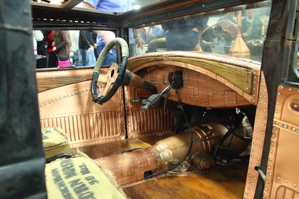 Just A Car Guy: cool hot rod, the Rusted Crow Distillery rat rod by ...