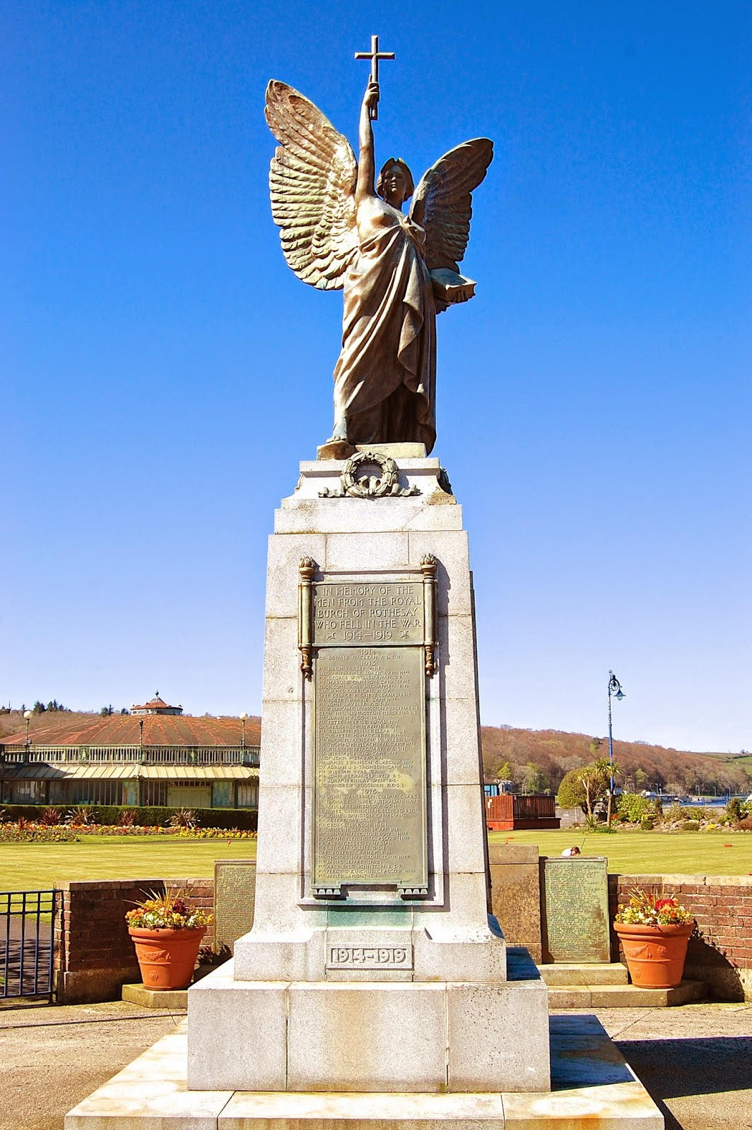 Rothesay's World War I memorial designed by Pilkington Jackson
