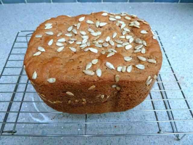 baking gluten free bread in a bread machine