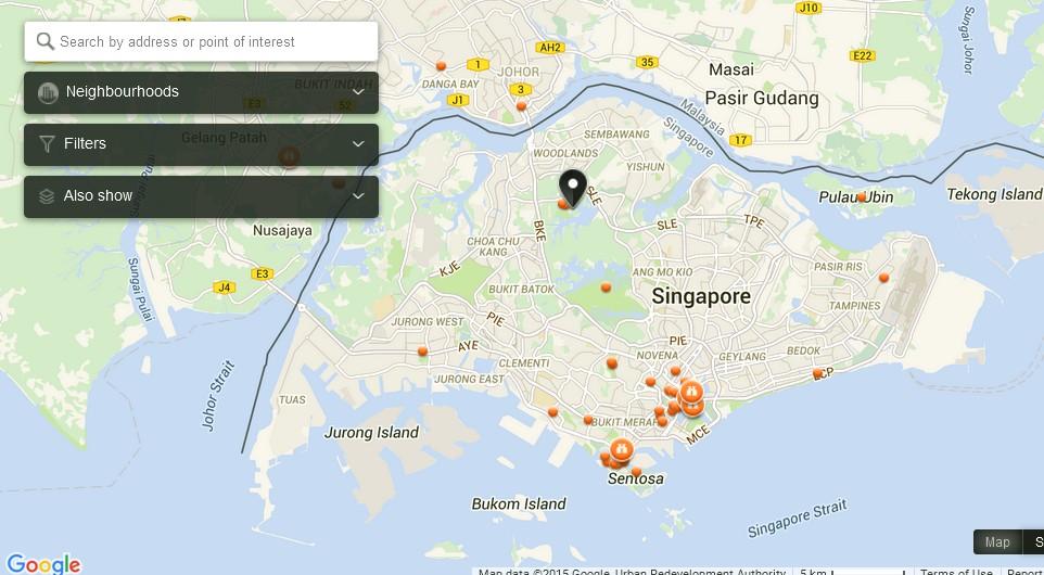 Singapore Map Zika: Zika Singapore Map At Infoasik.co